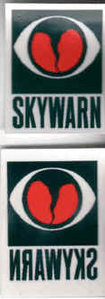 Skywarn Decals